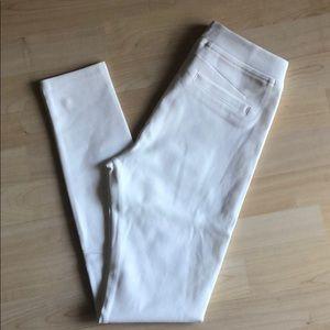 White leggings pants size 0
